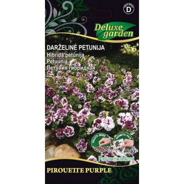 Petuunia Pirouette Purple