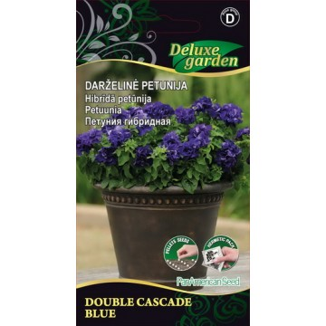 Petuunia Double Cascade Blue