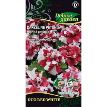 Petuunia Duo Red White